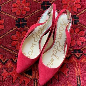 Sam Edelman Women Red Shoes